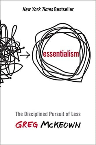 essentialism de Greg Mckeown